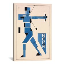 'Archer' on Canvas by Theo van Doesburg Graphic Art on Canvas