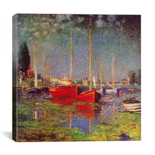 'Argenteuil' by Claude Monet Painting Print on Canvas