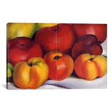 Apple Family by Georgia O'Keeffe Graphic Art on Canvas