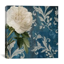 """""""Anastasia (White Flower)"""" Canvas Wall Art by Color Bakery"""