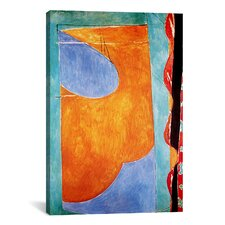 'Yellow Curtain' by Henri Matisse Painting Print on Canvas