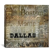 """""""Cities of The World I"""" Canvas Wall Art from Color Bakery"""