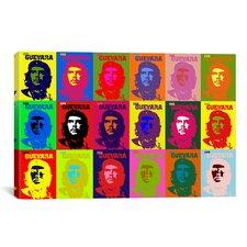 Che Guevara Pop Painting Print on Canvas