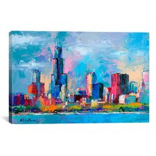 'Chicago 5' by Richard Wallich Painting Print on Canvas