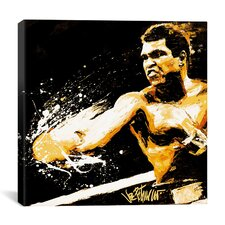 Muhammad Ali 'Ali Fury' by Joe Petruccio Graphic Art on Canvas