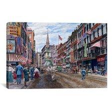'Boston' by Stanton Manolakas Painting Print on Canvas