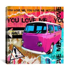 """You Love Me"" by Luz Graphics Graphic Art on Canvas"