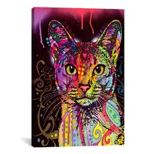 'Abyssinian' by Dean Russo Graphic Art on Canvas