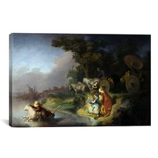 'Abduction of Europa' by Rembrandt Van Rijn Painting Print on Canvas