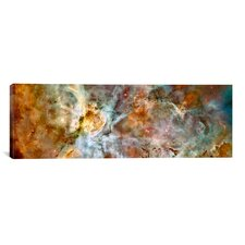 Carina Nebula (Hubble Space Telescope) Photographic Print on Canvas