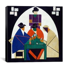 """Card Players"" Canvas Wall Art by Theo van Doesburg"
