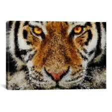 Animal - Tiger by Maximilian San Graphic Art on Canvas