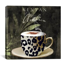 """""""Afrikan Coffee I"""" Canvas Wall Art from Color Bakery"""