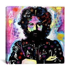 'Jerry Garcia' by Dean Russo Graphic Art on Canvas
