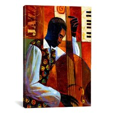 'Jazz' by Keith Mallett Painting Print on Canvas