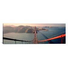 Panoramic Golden Gate Bridge California Photographic Print on Canvas