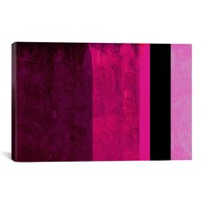 """""""Girls Room Barby Striped"""" Graphic Art on Canvas"""