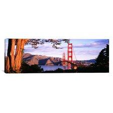 Panoramic Golden Gate Bridge, San Francisco, California Photographic Print on Canvas
