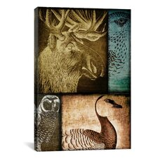 Color Bakery 'Hunting Season III' Graphic Art on Canvas