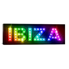 'Ibiza' by Michael Tompsett Graphic Art on Canvas