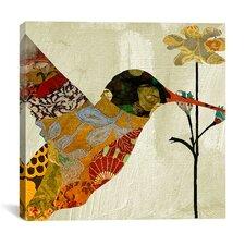 """""""Humming Bird Brocade III"""" Canvas Wall Art from Color Bakery"""