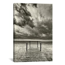 'First Droplets Monochrome' by Geoffrey Ansel Agrons Photographic Print on Canvas