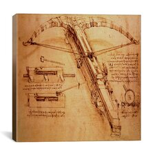 """Giant Catapult, Circa 1499"" Canvas Wall Art by Leonardo da Vinci"