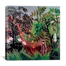 """""""Exotic Landscape, 1910"""" Canvas Wall Art by Henri Rousseau"""