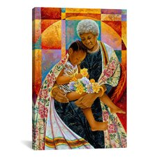 'In Grandmas Hands' by Keith Mallett Graphic Art on Canvas