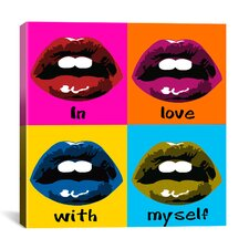 """In Love with Myself"" by Luz Graphic Art on Canvas"