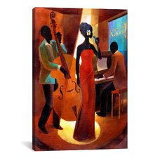 In a Sentimental Mood by Keith Mallett Painting Print on Canvas