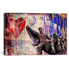 """In the Name of Love"" by Luz Graphics Graphic Art on Canvas"