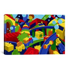 Kids Children Colorful Toys Canvas Wall Art