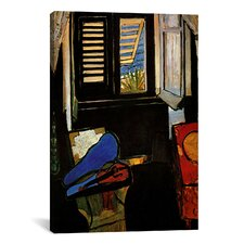 'Interior with a Violin' by Henri Matisse Painting Print on Canvas
