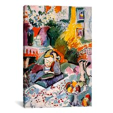 'Interior with a Young Girl 1906' by Henri Matisse Painting Print on Canvas