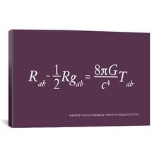'Einstein's Theory of Relativity' by Michael Tompsett Graphic Art on Canvas