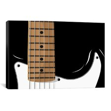 'Electric Guitar' by Michael Tompsett Graphic Art on Canvas
