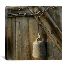 """""""Cow Bell on a Link Chain"""" Canvas Wall Art by Harold Silverman - Msc"""