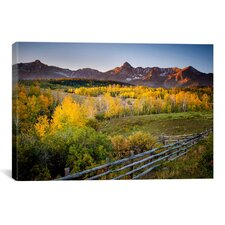 'Country Morning' by Dan Ballard Photographic Print on Canvas