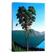 'Hillside Arbutus' by Ron Parker Painting Print on Canvas