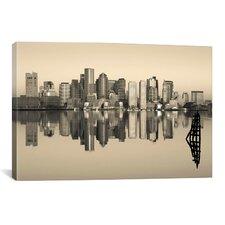 Panoramic 'Boston, Massachusetts' Photographic Print on Canvas