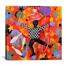 """""""Juggler"""" Canvas Wall Art by Jim Dryden"""