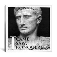 Julius Caesar Quote Canvas Wall Art