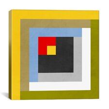 Modern Color Stacks lll Graphic Art on Canvas