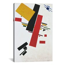 'Dynamic Suprematism' by Kazimir Malevich Graphic Art on Canvas