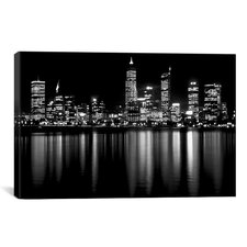 Downtown City Photographic Print on Wrapped Canvas