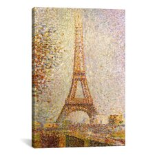 Eiffel Tower by Georges Seurat Painting Print on Canvas