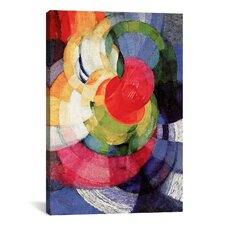 'Disks of Newton, Study for Fugue in Two Colors' by Frantisek Kupka Graphic Art on Canvas