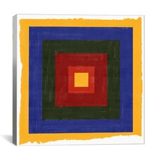 Modern Art Color Stacks ll Graphic Art on Canvas