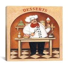 """Desserts"" Canvas Wall Art by John Zaccheo"